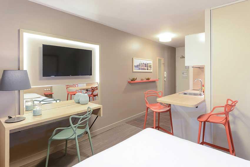 Nouvel appartement gamme Appart'City