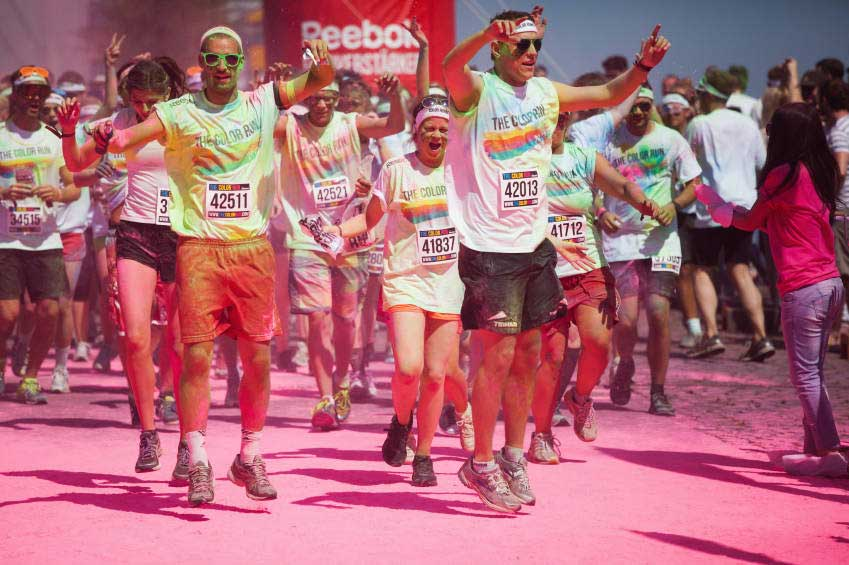 la color run