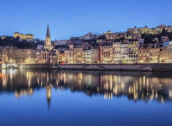Les quais de Saone, une belle balade à Lyon