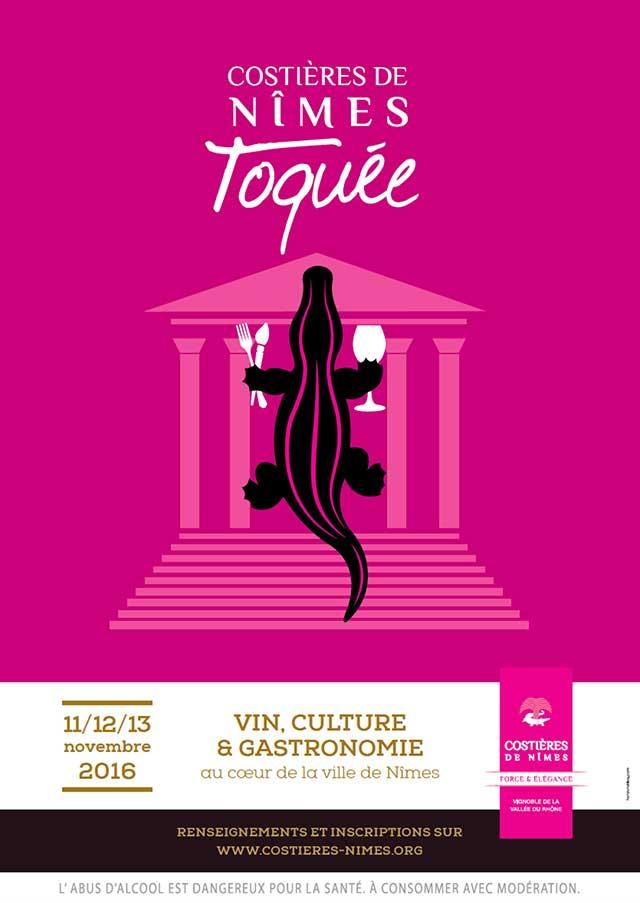 Nîmes Toquée, l'événement gastronomique par l'AOC Costières de Nîmes