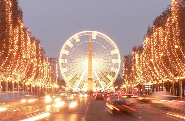 La Grande Roue des Champs Elysées Paris