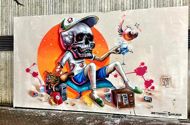 Découvrez le meilleur du street art dans les rues de Nancy